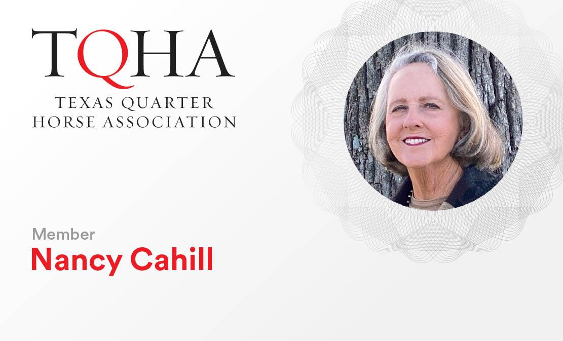 Nancy Cahill TQHA Member